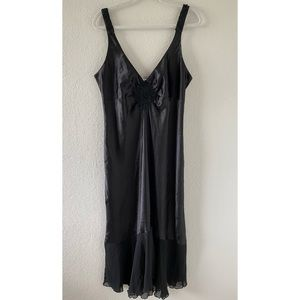 Vintage Linea Donatello Silky Slip Dress